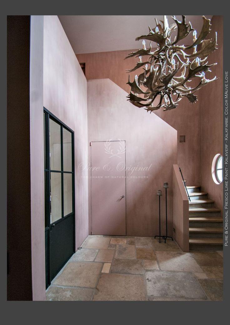 Fresco lime paint color mauve love beautiful floor and for Mauve kitchen walls