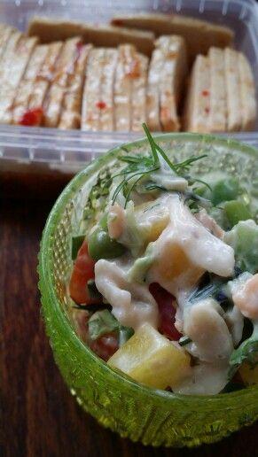 Salad & marinade