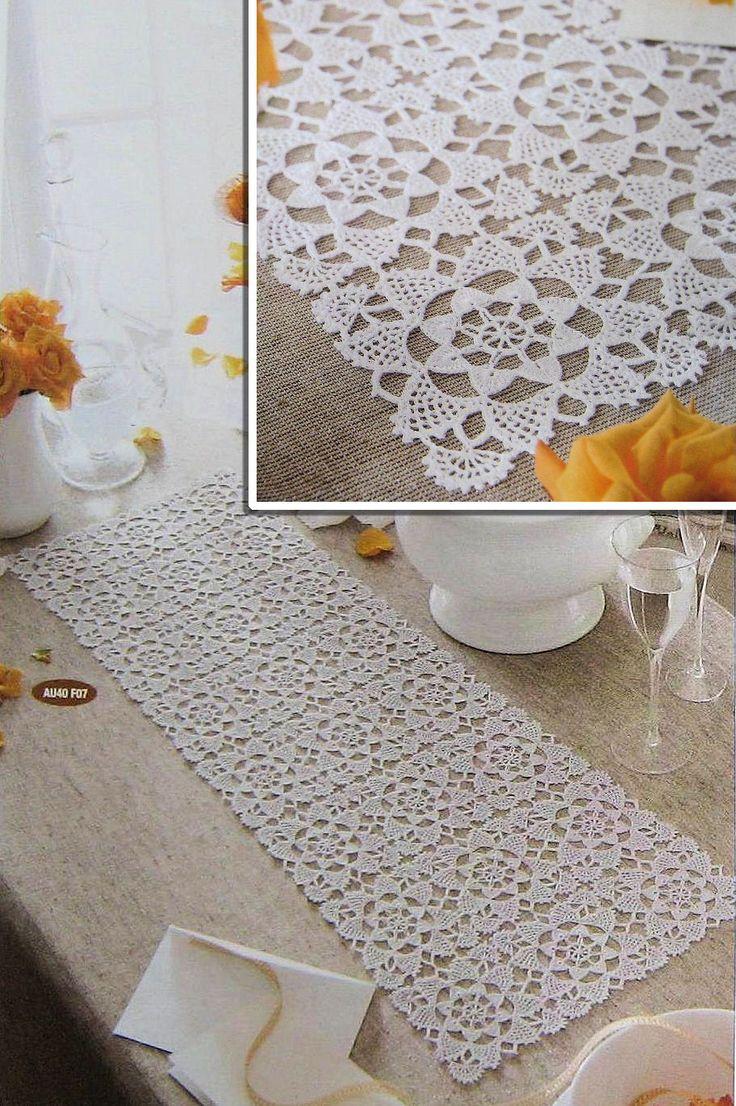 Meu Mundo Craft: Toalhinha de mesa