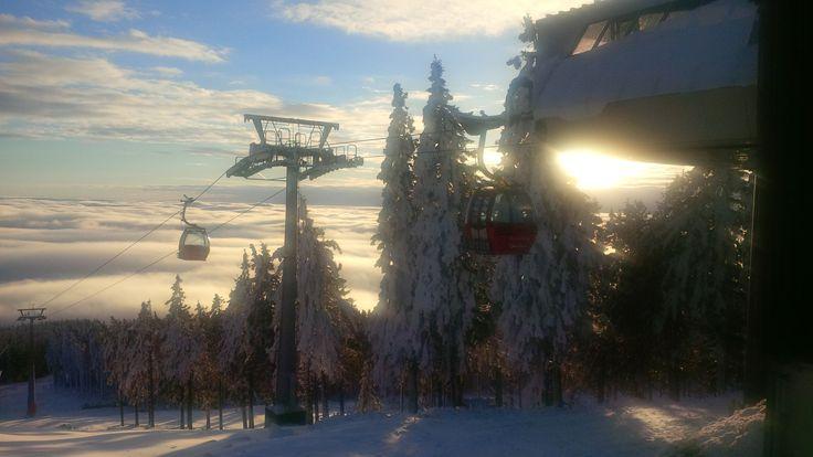 #Skigebiet #Wurmberg #Winter #Braunlage #Seilbahn