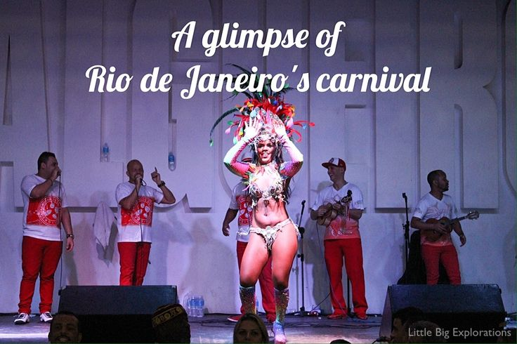 Take part in the biggest carnival in the world: Rio's! Possible even if you don't visit in February!