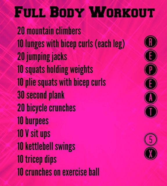 Free Weights Total Body Workout: 2010 Best Circuit Training & Total Body Workouts Images On