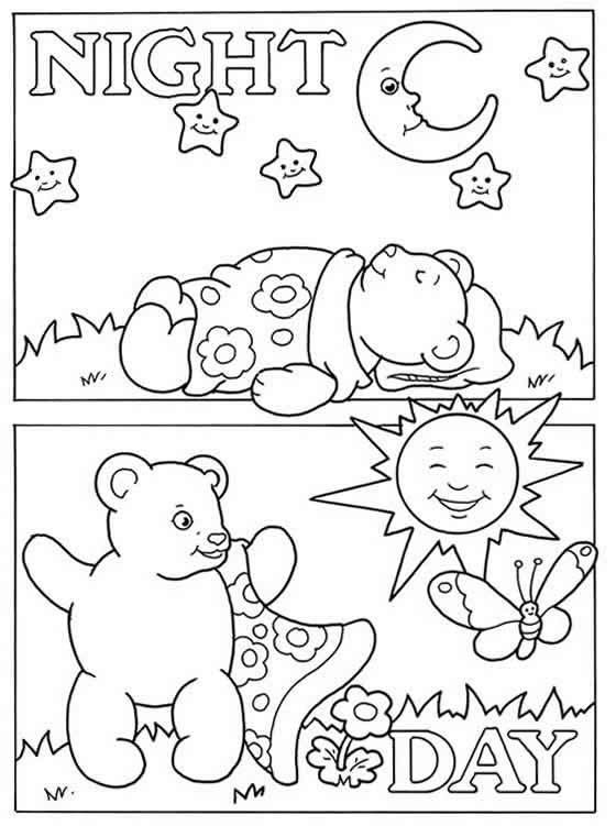 coloring pages english words - photo#50