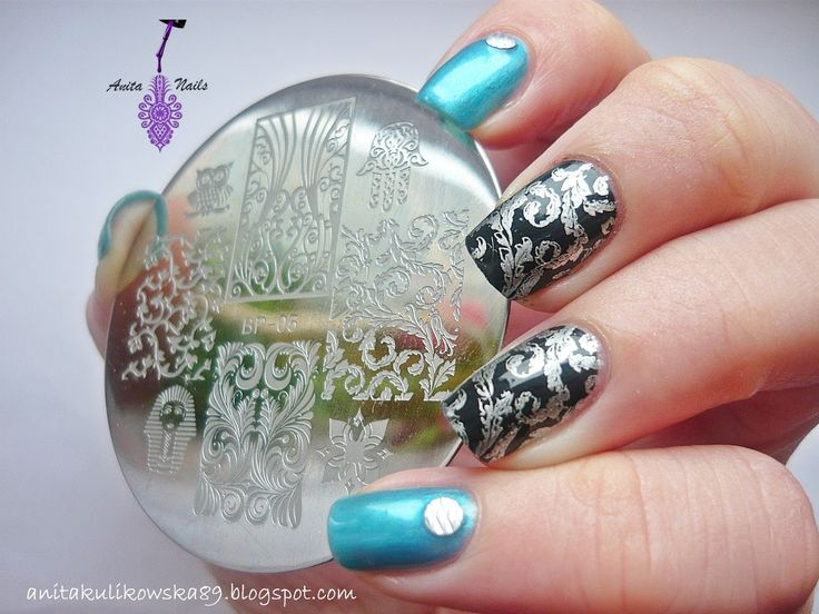 Georgous stamping plate from Born Pretty Store http://anitakulikowska89.blogspot.com/2014/12/born-pretty-store-stamping-plate-bp-05.html My unique code ANTH10_ 10%off