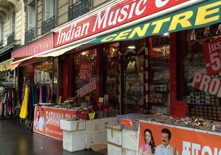 Shop in 10th arrondissement © Hattie Ditton
