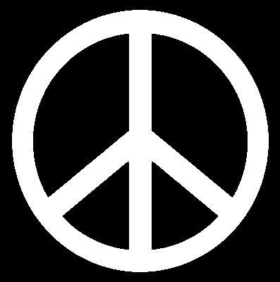 (14) Símbolo da paz hippie .(há outras conotações também para a mesma, conhecida como Cruz de Cabeça para Baixo ou Cruz de Nero. )