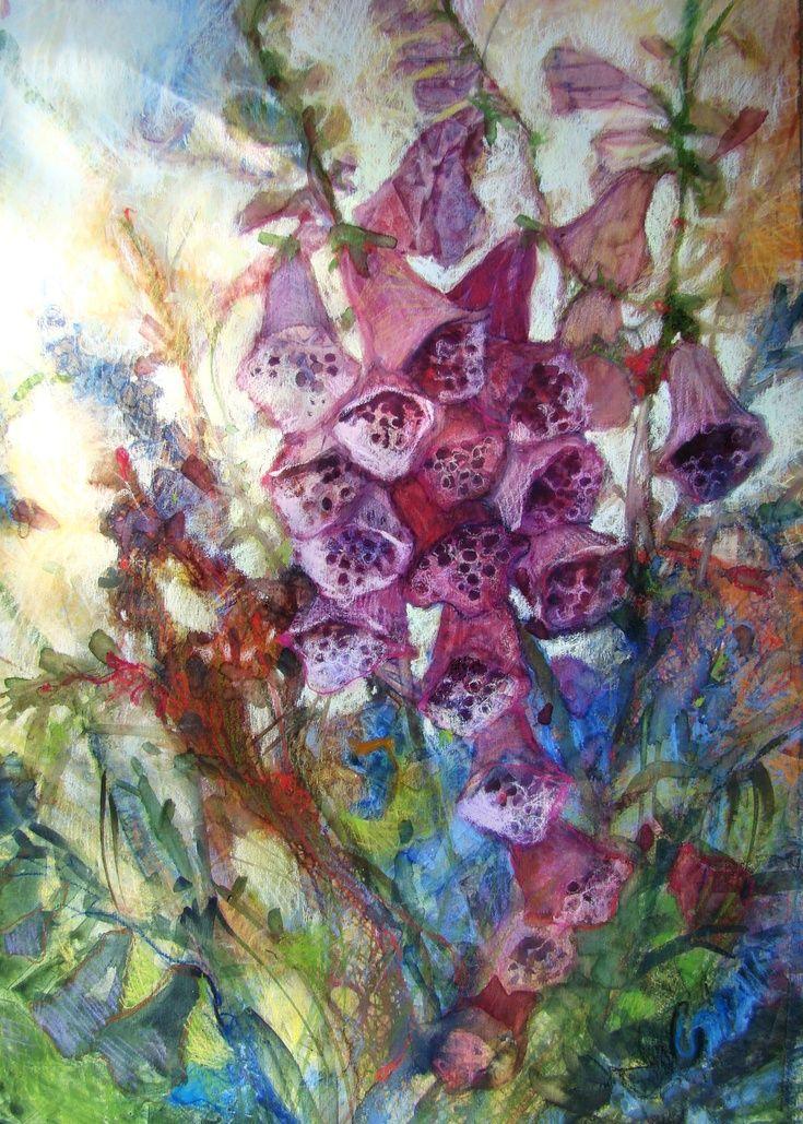 flowers art washes - photo #14