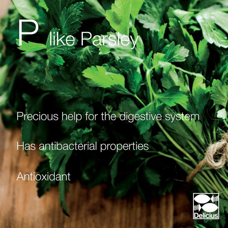 P LIKE PARSLEY!