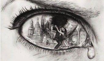 As lágrimas são como que o sangue das feridas do coração.