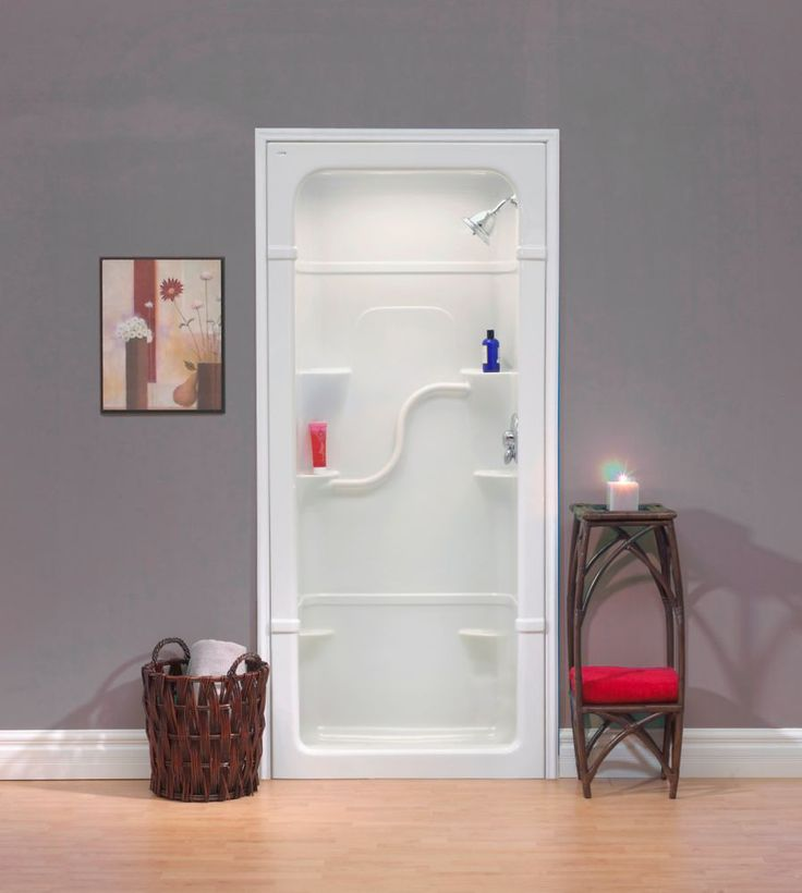 madison 36inch 1piece acrylic shower stall