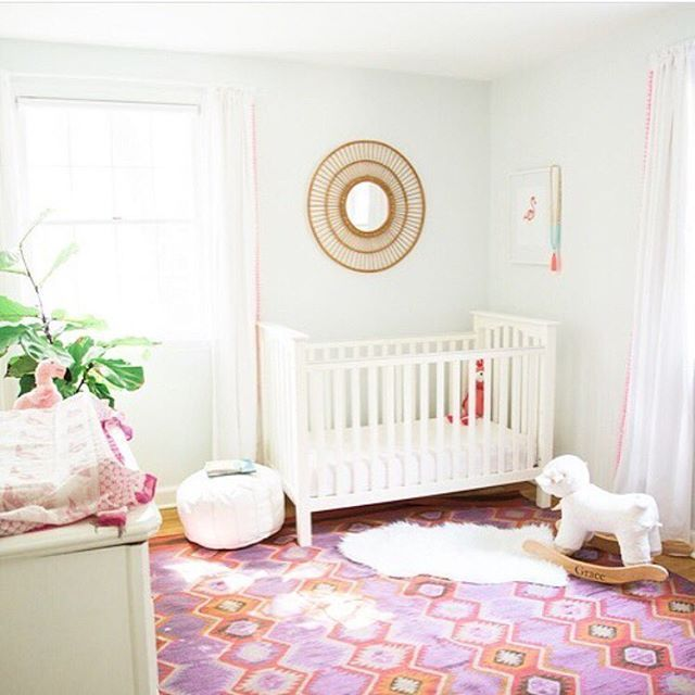 Boho Baby Girl Nursery Has Us Swooning! Via @purejoyhome