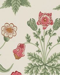 Tapet Daisy Willow/Pink från William Morris & Co