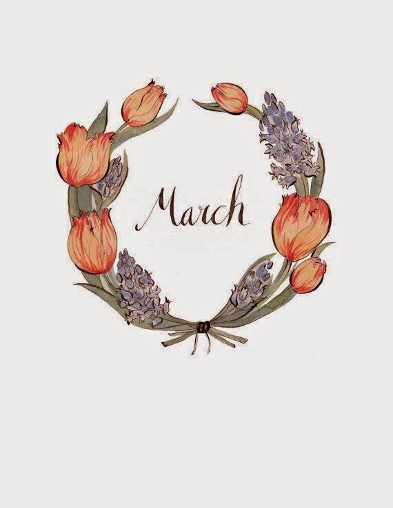 Bem Vindo Março!