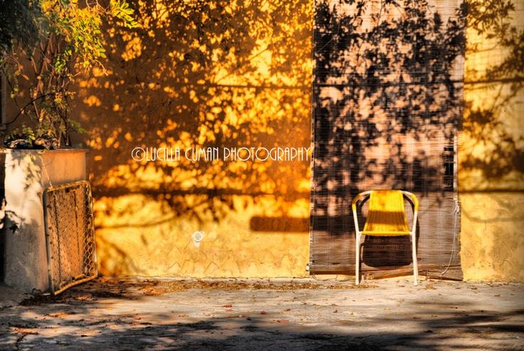 Yellow. Countryhouse. Porto Cesareo. Puglia. Italy