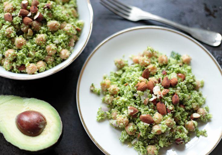 ... Raw Broccoli Salad on Pinterest | Raw vegetable salad, Chopped salads