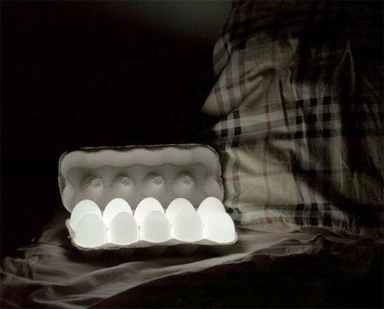 EGGLIGHT (henu0027s Eggs And Leds Combination)) By Igor Pinigin, Via Behance