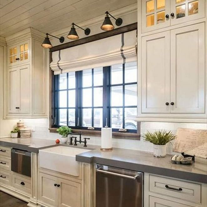 22 Antique White Kitchen Cabinets Farmhouse Counter Tops No Longer A Mystery Apikhome Co Farmhouse Style Kitchen Farmhouse Kitchen Decor Home Decor Kitchen
