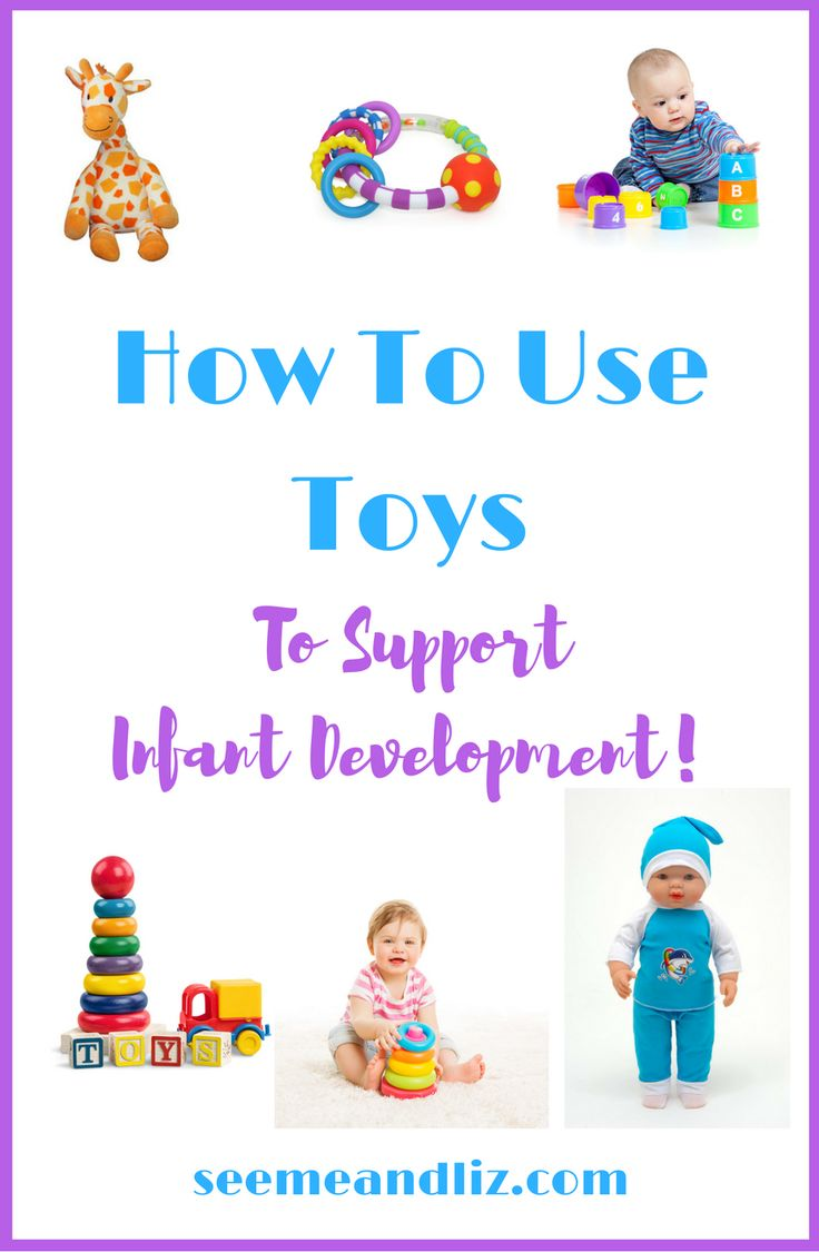 Learn how beneficial certain toys are for your baby's development. Plus find out exactly how to use these toys to interact with your infant to learn new developmental skills including speech-language development, cause-effect, joint attention, etc.