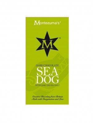 Tableta de Ciocolata Sea Dog #montezumas #ciocolata #lime #seasalt #dulciuri #cadouri #ideicadouri