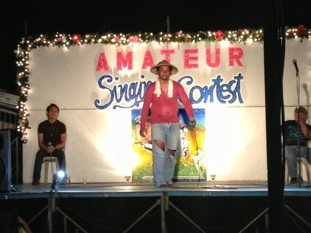 New Year's Amateur Singing Contest - Jan 2013