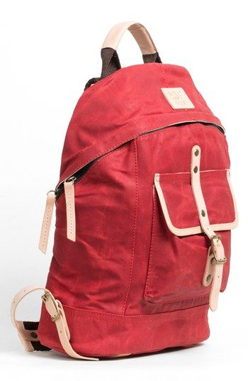 Will Leather Goods CANVAS BACKPACK @Nordstrom