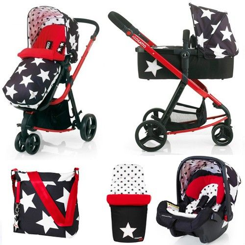 Cosatto Giggle 3-in-1 Travel System (All Star)