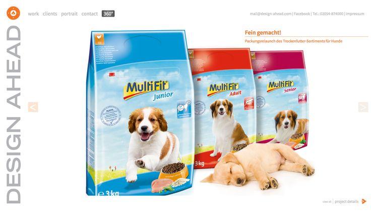 Packaging Design Trockennahrung Hund