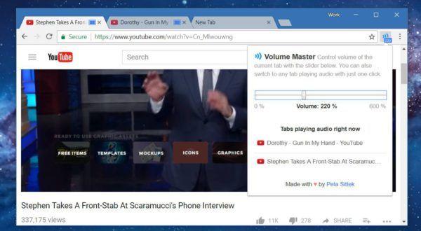 Dacă asculți foarte multe muzică online și te uiți la clipuri video, ar fi bine să știi cum modifici volumul în Chrome pentru fiecare tab. În Windows sau pe Mac există un utilitar intitulat Volume Mixer. Acesta îți evidențiază aplicațiile care redau conținut audio și îți permite să ajustezi volumul diferențiat pentru fiecare dintre ele.   #Chrome #chrome webstore #control volum #entertainment #extensii #Google Chrome