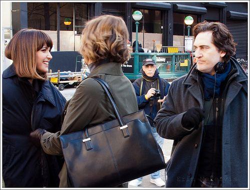 Actors Rose Byrne and Janet McTeer + writer/executive producer Daniel Zelman. Damages!