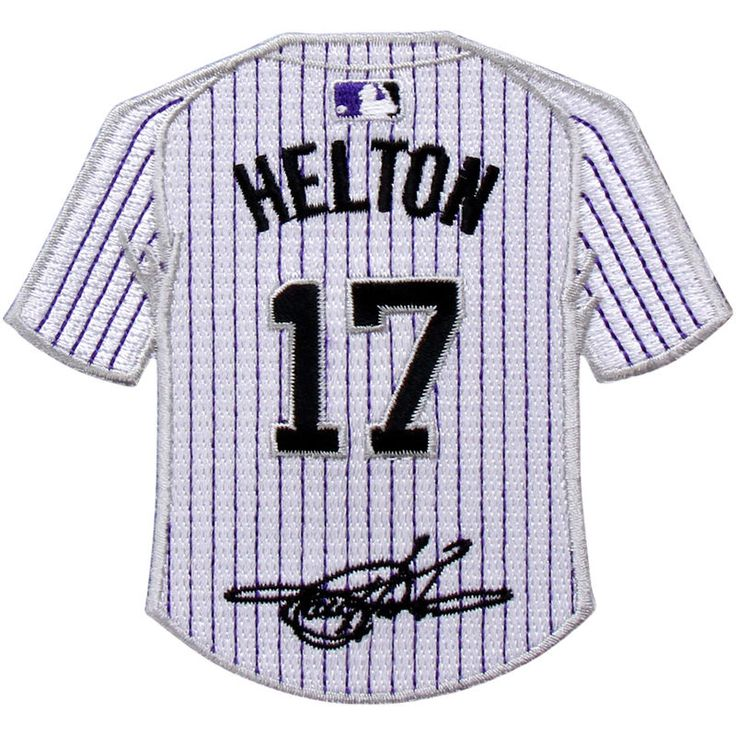 Todd Helton Colorado Rockies Mini Jersey Patch