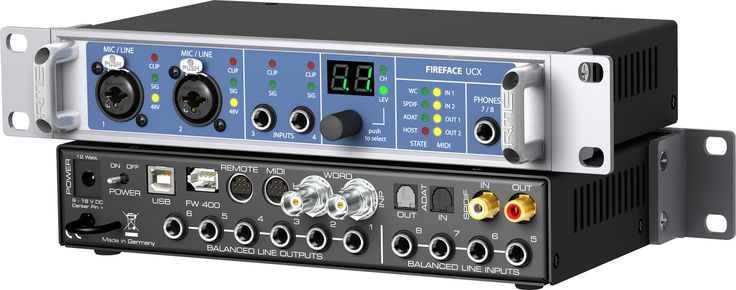 This is the audio/midi interface I am currently using for producing and pre-producing my music.