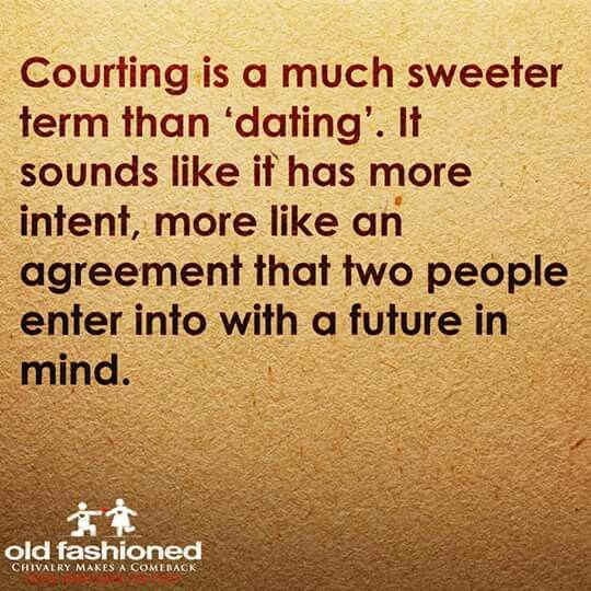 Dating vs courting
