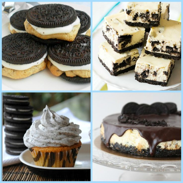 Dessert's Favorite Cookie: 34 Recipes with Oreos   Oreos make everything better, even easy dessert recipes!