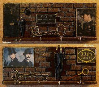 "Handmade from NataliSha: Две ключницы ""Шерлок Холмс и доктор Ватсон"" (2, 3)..."