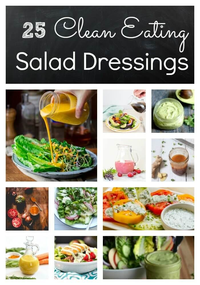 26 of the best clean eating salad dressing recipes are here for you. All are healthy and full of flavor. Ranch, vinaigrettes, creamy dressings & more