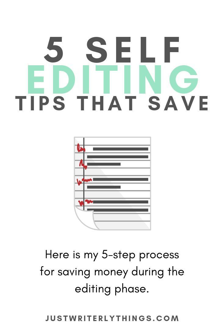 Editing Your Book Is Probably The Most Expensive Step In A Writer S Journey Aside From Marketing Here Is My 5 Step P Writing A Book Writing Tips Book Editing [ 1102 x 735 Pixel ]