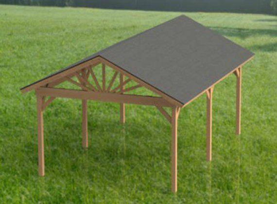 Gable Roof Gazebo Building Plans 16 X20 Perfect For Etsy Hot Tub Gazebo Gable Roof Pavilion Plans