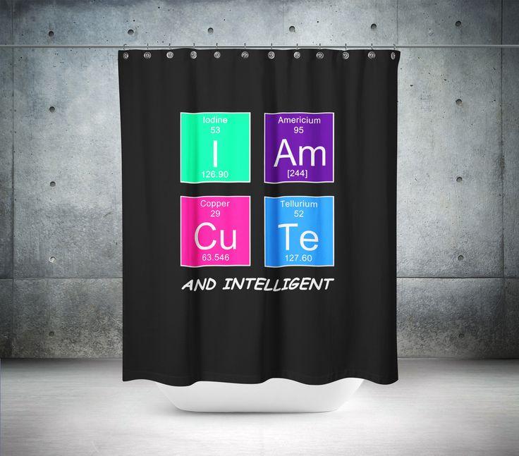 I Am Cute Shower Curtain