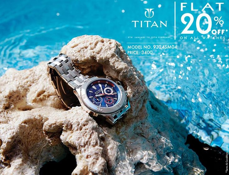 Classy, Contemporary & Catchy.Now is the best time to get 20% OFF #watches from #Titan BuyNow: http://goo.gl/CjqnlJ