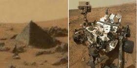 KEKANDANG: FAKTA gan, Ternyata di Planet MARS Ada Piramid Mirip di Mesir, Ini Fotonya