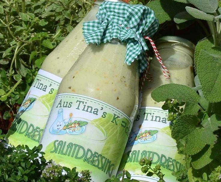 "Salatsoße ""Lecker"" auf Vorrat by Tina.K on www.rezeptwelt.de"