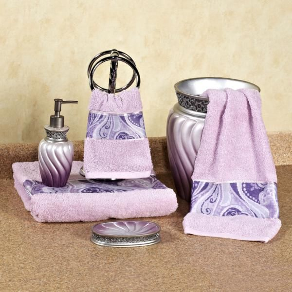 Best Country Purple Bathrooms Ideas On Pinterest Country - Lavender towels for small bathroom ideas