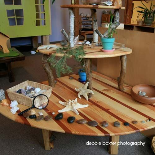 Natural Classroom Design ~ Best inspiration nature tables images on pinterest