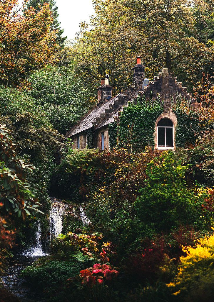 "lori-rocks: "" The old cottage, scotland.. by rebekah murray """