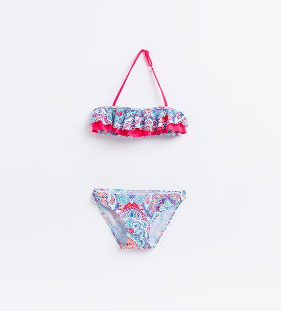 ZARA - KIDS - Paisley bikini