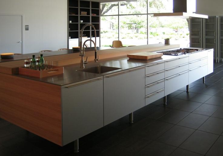 Amazing Bulthaup Kitchen Island Part - 2: Bulthaup B3 Kitchen Island - Leg Detail | Bulthaup | Pinterest | Kitchens