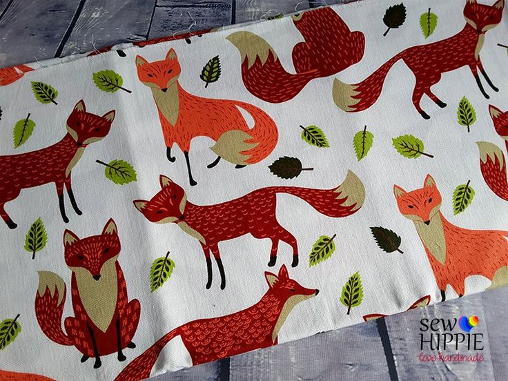 Fine Foxes Available for custom order bags, journal covers and storage baskets. http://www.sewhippiebags.etsy.com