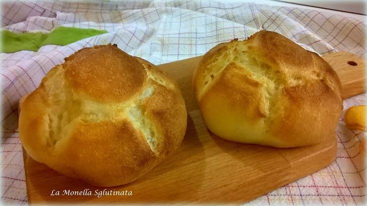 Questa e la ricetta dei golossisimi panini chiamati rosette o michette senza glutine preparate con lievito madre senza glutine