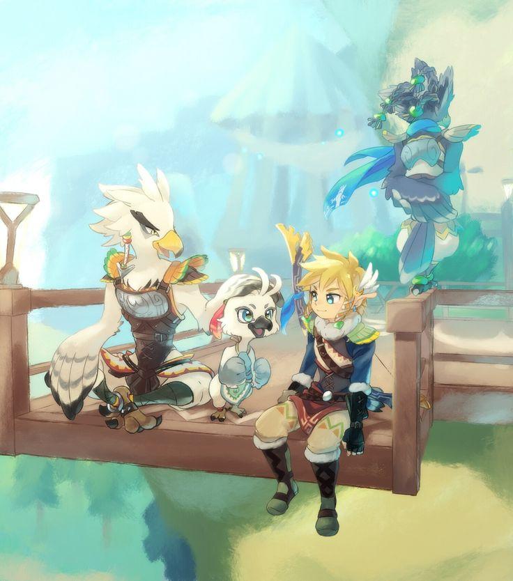 リトの戦士 - no one talks about how cute the Rito are. Even if they are proud birds.