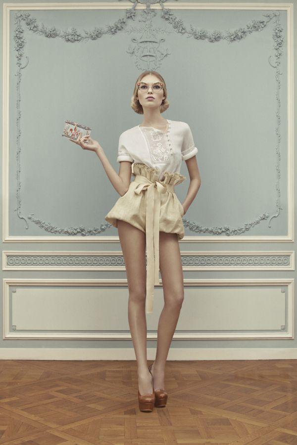 Ulyana Sergeenko Haute Couture Spring/Summer 2013